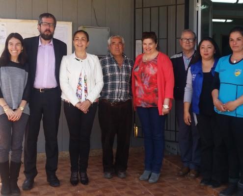 Paola Barzelatto, Jorge Canals, Adela Bahamondes, Francisco Sagredo, Lorena Grandón, Nelsón Valdebenito, Cecilia Arenas y Leslie Calderón.